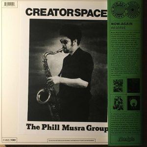 Phill Musra Creator Spaces Reissue Art